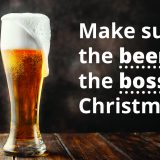 Make Sure The Beers On The Boss This Christmas - PAT Testing